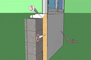 comment poser une fenetre pvc en applique maison travaux With comment poser porte fenetre pvc