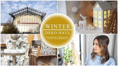 Winterdeko Live Haul  Weihnachtsdekoration  Xmas Haul