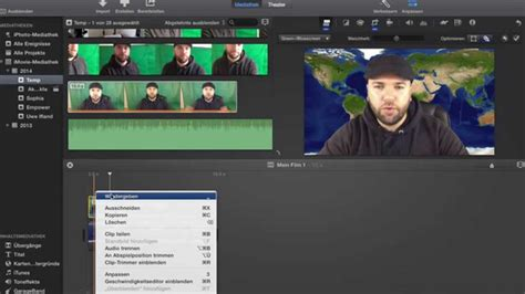 #158 Imovie Greenscreen Hintergrund Video Tutorial Deutsch