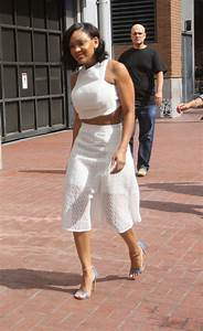 Meagan Good - Arriving at Comic-Con in San Diego, July 2015