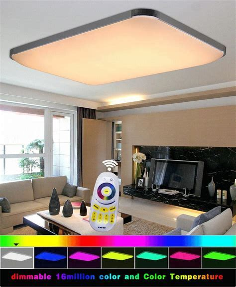 Ceiling Lights Rgb 16 Million Color Led Ceiling Light