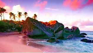 Paradise Island Kid Safe Beach Fantasy Wallpaper