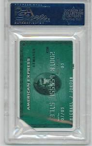 Payback American Express Abrechnung : lot detail michael jordan 39 s signed american express card ~ A.2002-acura-tl-radio.info Haus und Dekorationen