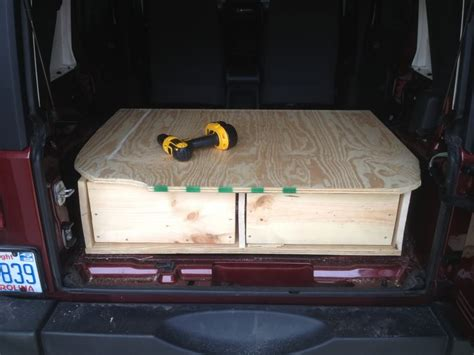 jeep wood box jeep cherokee sport sleep storage google search xj