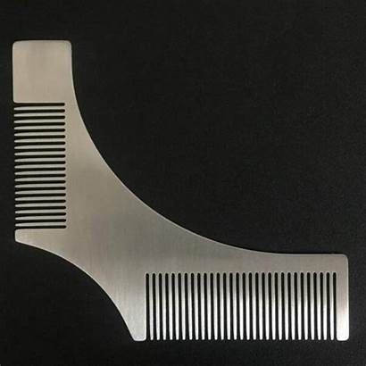 Beard Tool Camber Hairline Comb Sides Styling