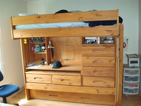 Ebay Bunk Bed With Desk by Discovery Bunk Bed With Desk And Storage Ebay