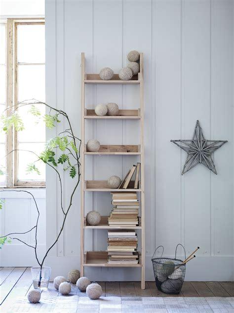 ladder book shelf bookshelves glass jars photographs