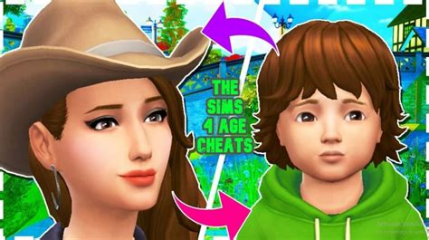 sims  age  cheat stop aging youth potion sims