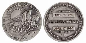 Silver Medallion Apollo 11 Coin - Pics about space