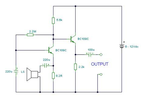 Speaker Microphone Circuit Diagram Instructions