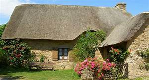 photo maison avec toit de chaume a kerhinet 2754 With maison toit de chaume 1 maison bretonne