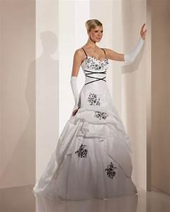 Robe De Mariée Noire : robe mariee noir et blanche robe mariage soldes robeforyou ~ Dallasstarsshop.com Idées de Décoration