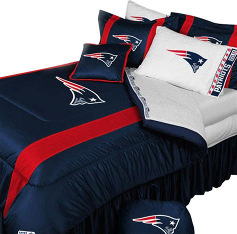new england patriots football queen full bed comforter set