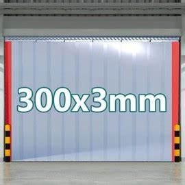 Pvc Günstig Kaufen : pvc streifenvorhang f r industrie oder pferdestall 300x3mm streifen aus transparenter pvc ~ Eleganceandgraceweddings.com Haus und Dekorationen