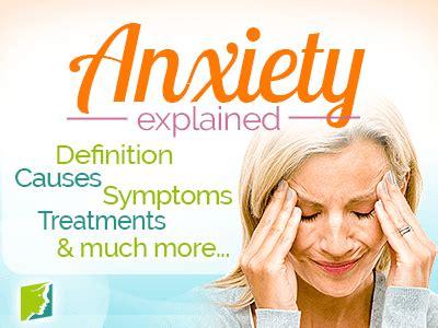 Anxiety Symptom Information - Menopause Symptoms ...