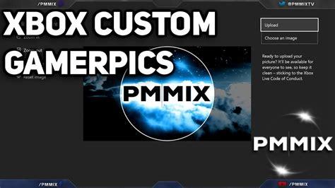 Xbox One Custom Gamerpic Tutorial Walkthrough Youtube