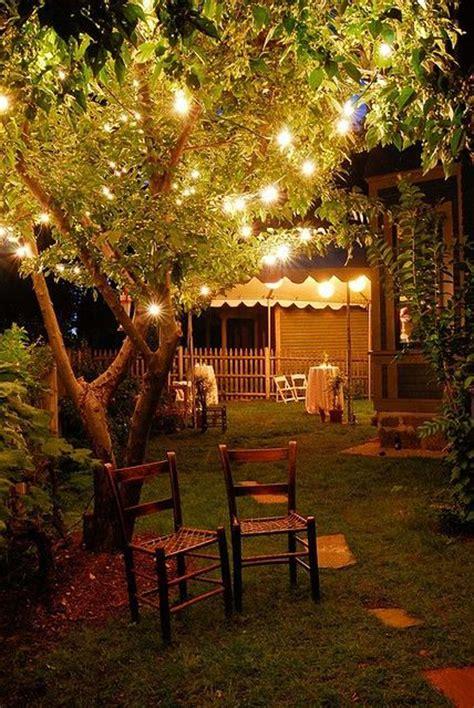 romantic backyard lighting ideas homemydesign
