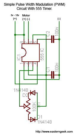 Simple Dirty Pulse Width Modulation Pwm With Timer
