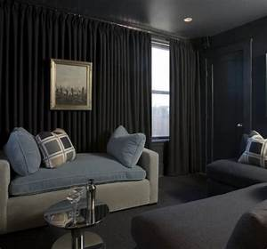 Media Room - Transitional - Home Theater - atlanta - by