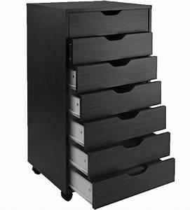 7, Drawer, Storage, Cart, In, Storage, Drawers