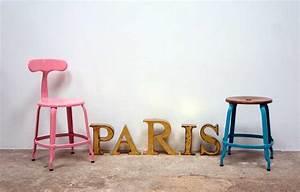 Chaise De Bar Industriel : la chaise nicolle une chaise de bar industriel ind modable ~ Teatrodelosmanantiales.com Idées de Décoration