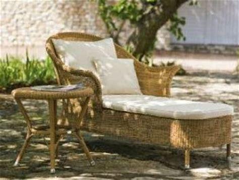 muebles para patio de mimbre patios y jardines
