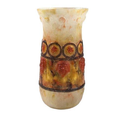 p 226 te de verre vase by argy rousseau for sale at 1stdibs