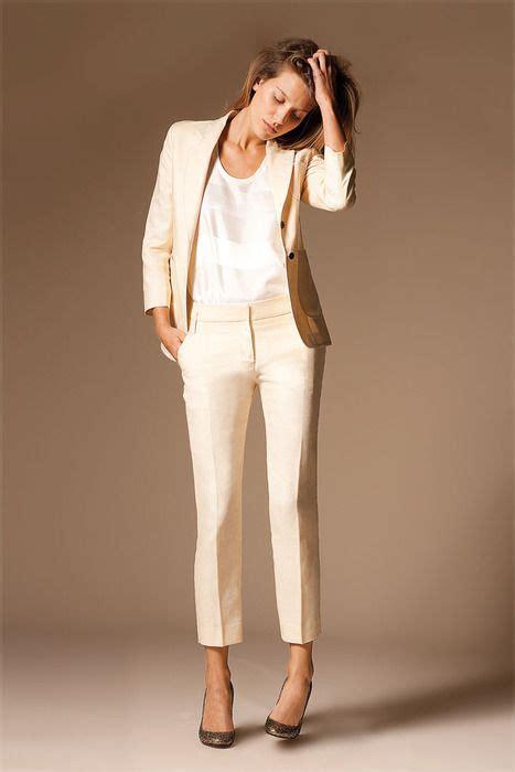 tailleur pour mariage comment porter le tailleur pantalon blanc jpe 467 700 tenue mariage et rangements