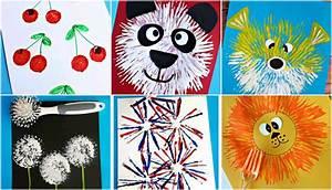 Malen Mit Kleinkindern Ideen : mit kleinkindern malen tolle ideen mit gabel und korken ~ Watch28wear.com Haus und Dekorationen