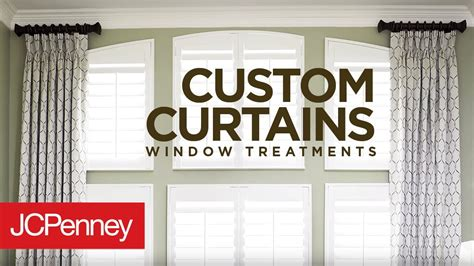 custom curtains  drapes  large windows jcpenney