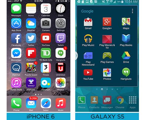 iphone 6 apps samsung galaxy s5 vs apple iphone 6 and the winner is
