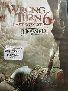 wrong turn   resort dvd ebay