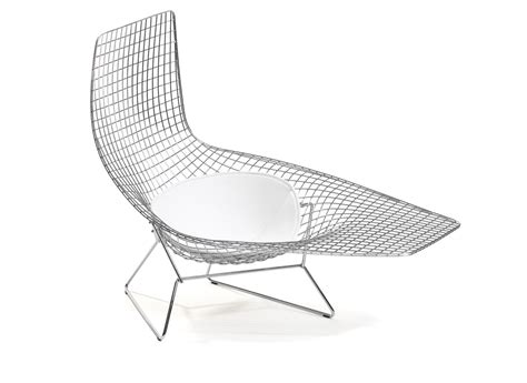 chaise bertoia knoll the wire chair contemporist icon