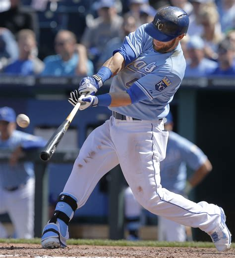 royals homer drought ends  win  rays news radio kman