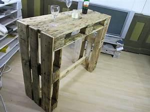 Paletten Tisch Bauen : aufbau stehtisch in palettenoptik youtube von stehtisch ~ Watch28wear.com Haus und Dekorationen