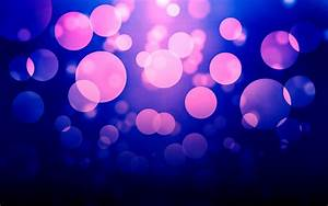 Purple light dots wallpaper #19200