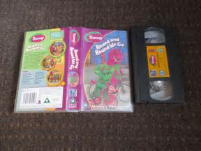 Barney and Round We Go VHS