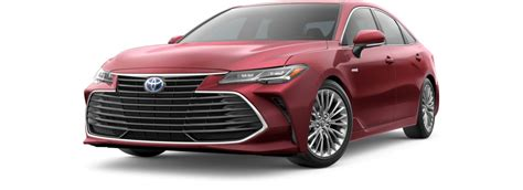 toyota avalon hybrid info pricing  images