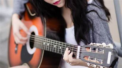 Guitar Playing Wallpapers Instrument Backgrounds