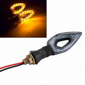 1 Piece 12 Led Turn Signal Motorcycle Turn Signals Light