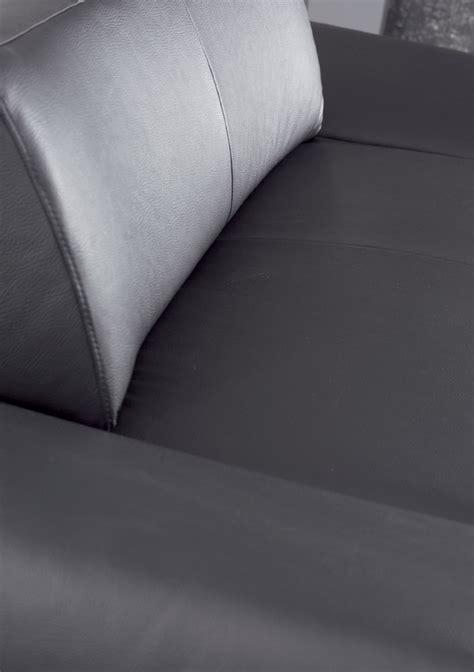 canapé en cuir design canapé profond longrun en cuir design 3 places