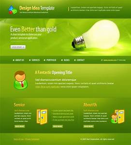 css form template green bulb webpage template 5959 electronics gadgets