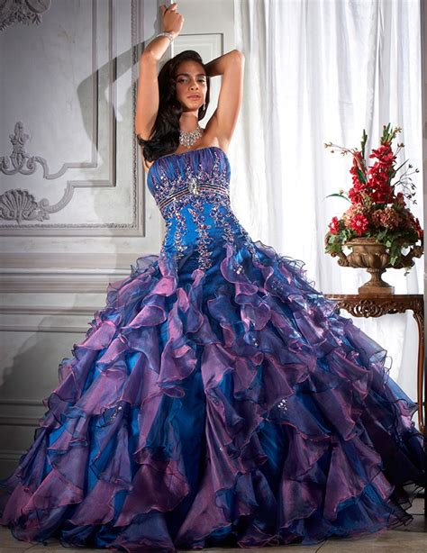 blue and purple wedding dress luxury blue wedding dress of blue and blue from