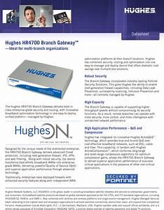 Hughes Hr4700 Branch Gatway