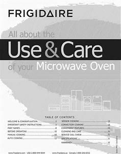 Frigidaire Fgmv154clfa 1012379l User Manual Microwave Oven