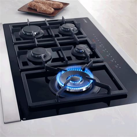 Gas Cooktop dacor rntt365gbng 36 inch touchtop gas cooktop with 5