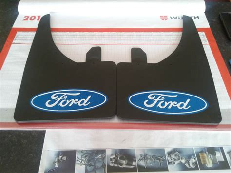 Ford Mud Flaps by Universal Mudflaps Front Rear Ford Logo Focus