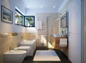 dimensions pour des wc With salle de bain en long