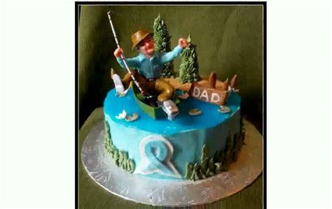 Man In Fishing Boat Cake Topper by Fishing Cake Decorations Chocaric Youtube