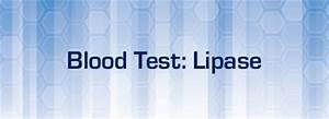 Blood Test Lipase